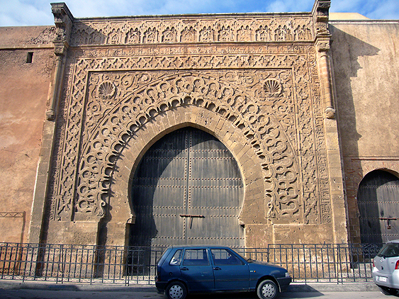 ウダイヤ門、性格にいうと、これはウダイヤ門を入ってすぐの門だが (もし... 旅路はるか~モロッ